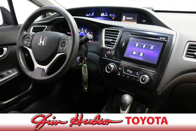 Pre-Owned 2015 Honda Civic Sedan SE