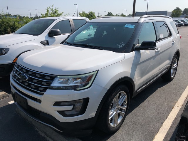 Pre-Owned 2016 Ford Explorer NAVI SUNROOF LEATHER POLISHED 20 INCH WHEELS POWER LIFTGATE XLT