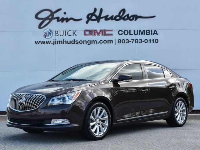 Pre-Owned 2016 Buick LaCrosse 4dr Sdn Leather FWD