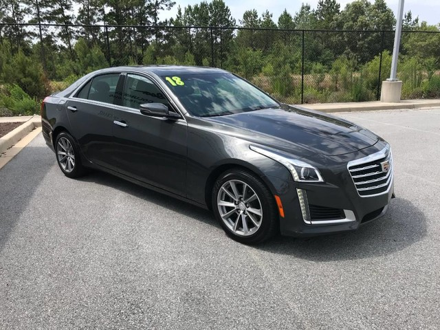 Pre-Owned 2018 Cadillac CTS Sedan 4dr Sdn 3.6L Luxury RWD