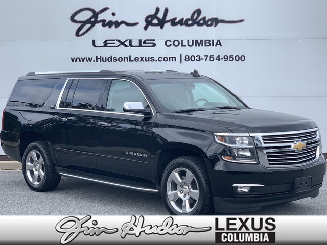 Pre-Owned 2016 Chevrolet Suburban LTZ, Navigation, Heated & Ventilated Front Seats, Forward Collision Alert, Park Assist