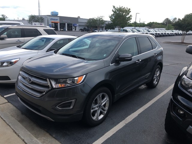 Pre-Owned 2018 Ford Edge Titanium AWD NAVI LEATHER PANO ROOF HEATED SEATS LOADED