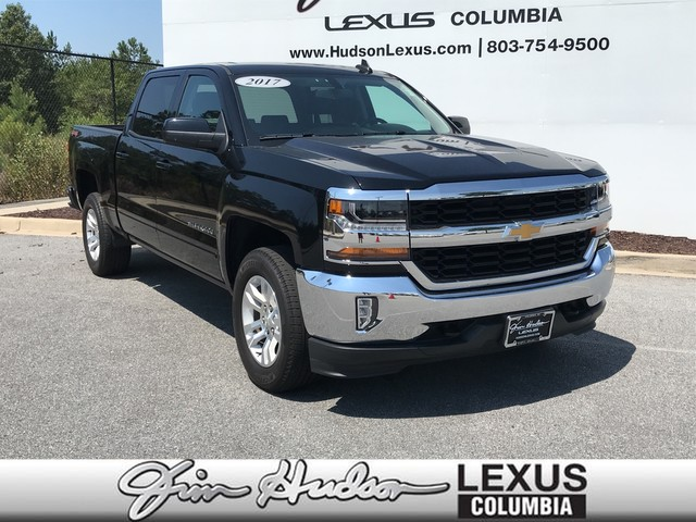 Pre-Owned 2017 Chevrolet Silverado 1500 LT, All Star Edition, 18 Alloy Wheels, 8 Touchscreen Radio