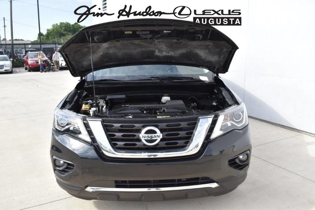 Pre-Owned 2017 Nissan Pathfinder / Nav / 360 View / Bluetooth / Platinum