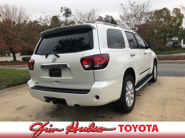 New 2019 Toyota Sequoia Platinum RWD
