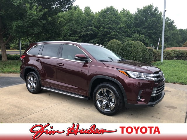 New 2019 Toyota Highlander Limited Platinum V6 FWD
