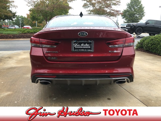 Pre-Owned 2018 Kia Optima SX TURBO