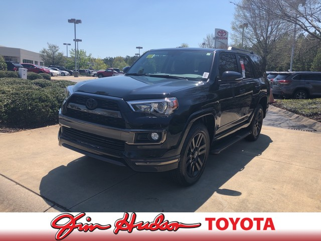 New 2019 Toyota 4Runner Limited Nightshade 4WD Four Wheel Drive SUV