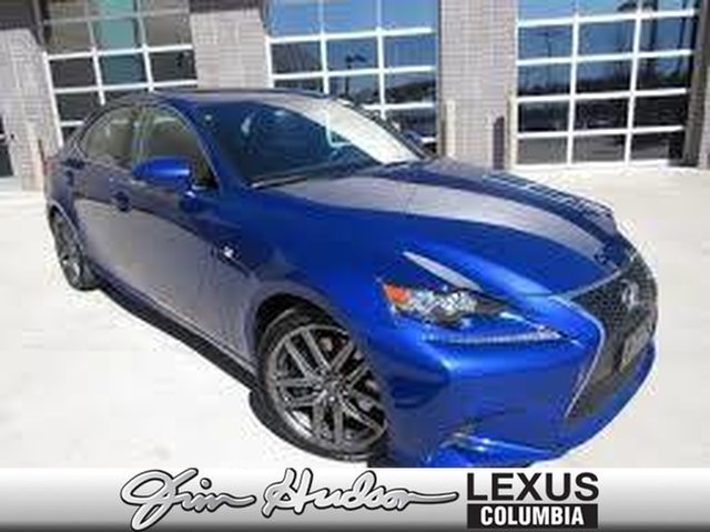 Pre-Owned 2017 Lexus IS 200t F Sport Package, Blind Spot Monitor, Heated/Ventilated