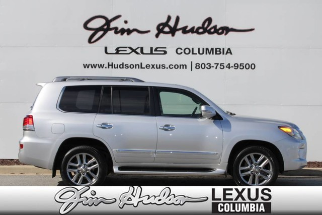 Pre-Owned 2015 Lexus LX 570 Luxury Package w/Pre-Collision System, Dynamic Radar Cruise Control