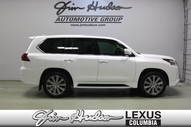 Pre-Owned 2017 Lexus LX 570 L/Certified Unlimited Mile Warranty, Luxury Package, Heads Up Display, Lexus Safety+ System, Mark Levinson Audio