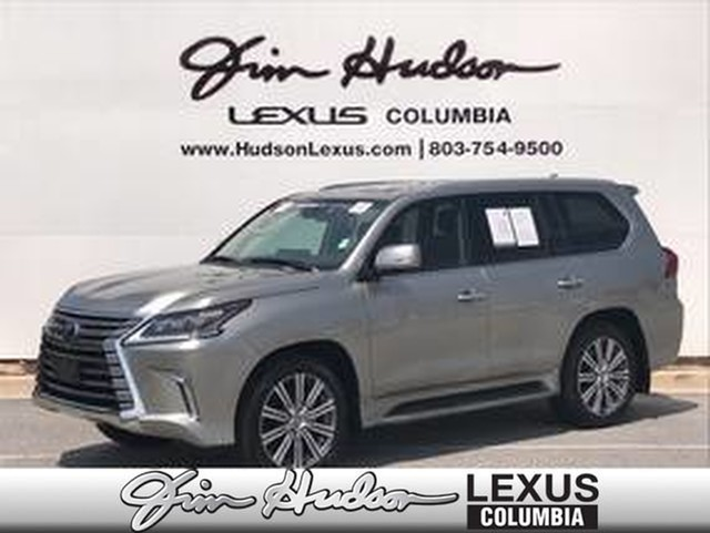 Pre-Owned 2017 Lexus LX 570 L/Certified Unlimited Mile Warranty, Luxury  Package, Heads Up Display, Lexus Safety+ System, Mark Levinson Audio Four