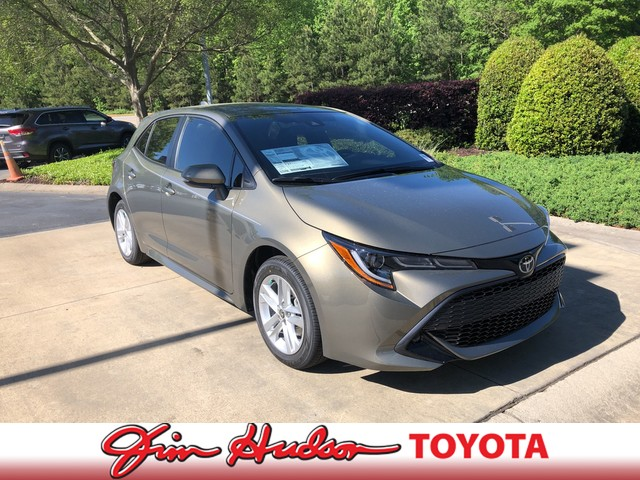 New 2019 Toyota Corolla Hatchback SE Manual (Natl)