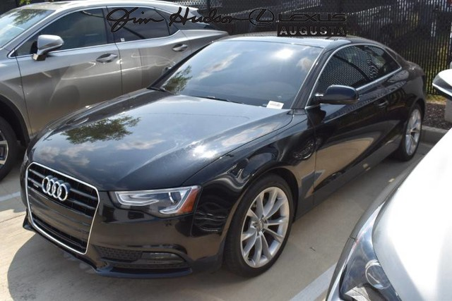 Pre-Owned 2013 Audi A5 / Premium Plus / Navigation / Bluetooth / Leather