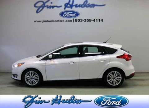 Pre-Owned 2018 Ford Focus Titanium NAVI LEATHER MOONROOF REMOTE START SONY STEREO SYNC 3