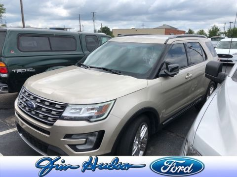 Pre-Owned 2017 Ford Explorer XLT NAVIGATION LEATHER POLISHED 20 INCH WHEELS