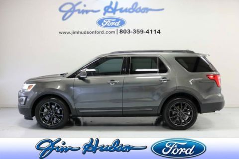 Pre-Owned 2017 Ford Explorer XLT SPORT PACKAGE NAVI LEATHER-SUEDE SEATING 20 INC WHEELS