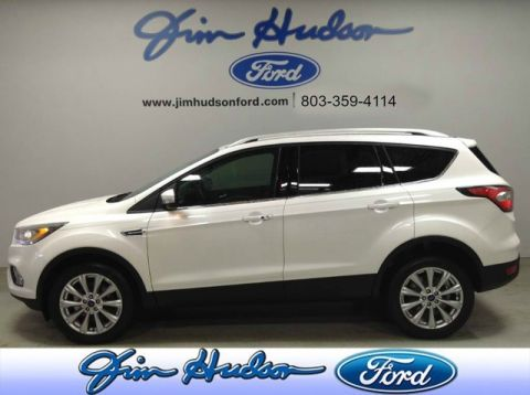 Pre-Owned 2017 Ford Escape Titanium NAVI LEATHER BLIND SPOT MONITOR POWER LIFT GATE REMOTE