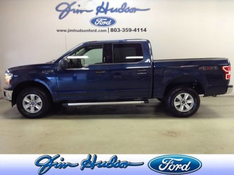 Pre-Owned 2018 Ford F-150 XLT 4WD SuperCrew ECOBOOST LEATHER STEP RAILS TOW PACKAGE