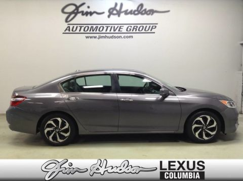Pre-Owned 2016 Honda Accord EX, Apple Carplay/Android Auto, Backup Camera, Keyless Entry, Su