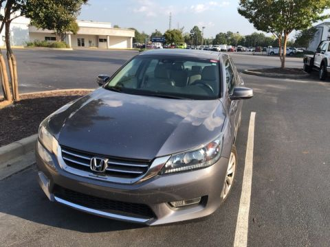 Pre-Owned 2013 Honda Accord Sdn EX-L LEATHER SUNROOF