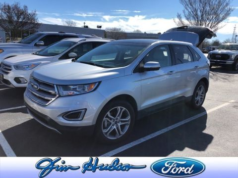Pre-Owned 2016 Ford Edge Titanium CPO LEATHER PANO ROOF 19 INCH WHEELS