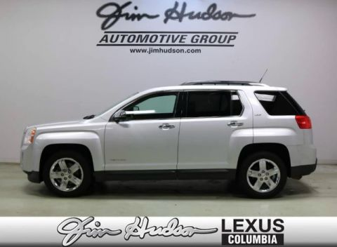 Pre-Owned 2012 GMC Terrain SLT-2, Monsoon Audio System, Exterior Chrome Package, Power Rear
