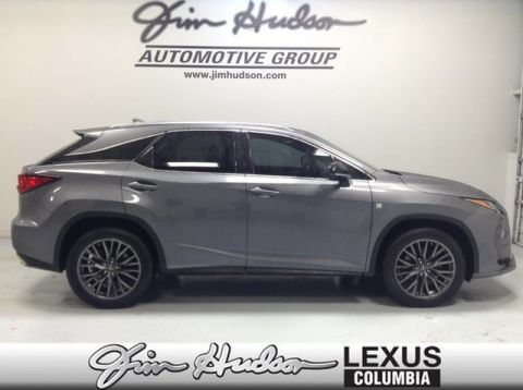 Pre-Owned 2017 Lexus RX 350 F Sport L/Certified Unlimited Mile Warranty, Premium F Sport Package, Lexus Safety+
