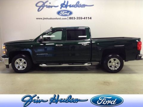 Pre-Owned 2014 Chevrolet Silverado 1500 Crew Cab LT LOW MILES 5.3 V8