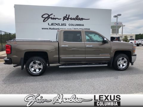 Pre-Owned 2015 Chevrolet Silverado 1500 LTZ Plus Package, Bose Audio System, Front & Rear Park Assist, Backup Camera