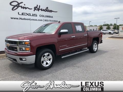 Pre-Owned 2014 Chevrolet Silverado 1500 LTZ, Navigation, Heated/Cooled Front Seats, Backup Camera