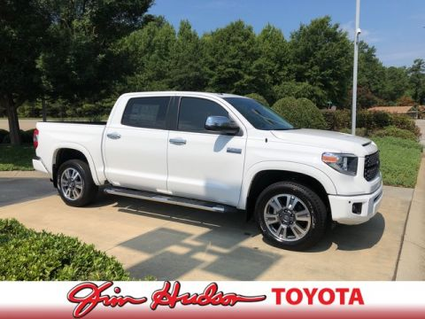 New 2018 Toyota Tundra 2WD Platinum CrewMax 5.5' Bed 5.7L