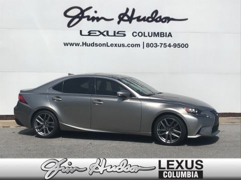 Pre-Owned 2016 Lexus IS 200t F Sport L/Certified Unlimited Mile Warranty, F Sport Package, Blind Spot Monitoring System