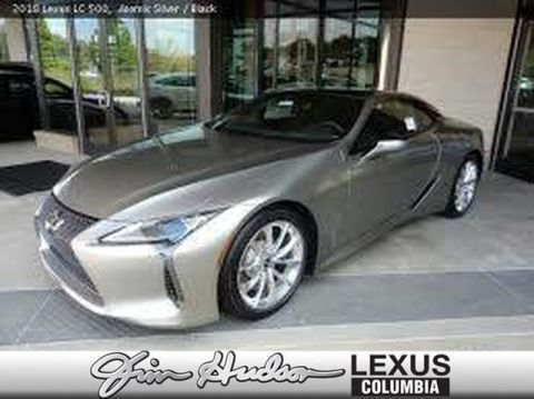 Pre-Owned 2018 Lexus LC 500 L/Certified Unlimited Mile Warranty, Touring Package, All Weather and Convenience Packages, Heads Up Display, Mark Levinson Audio