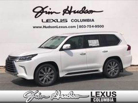 Pre-Owned 2017 Lexus LX 570 L/Certified Unlimited Mile Warranty, Luxury Package, Heads Up Display, Lexus Safety+ System, Mark Levinson Audio, Dual-Screen DVD Rear-Seat Entertainment System