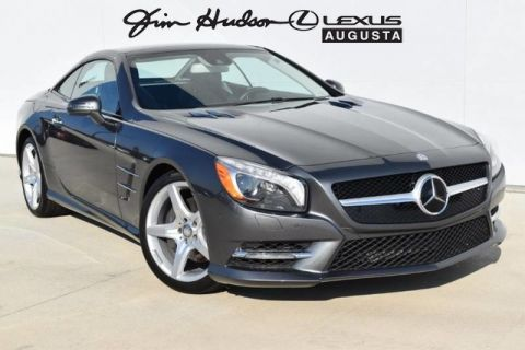 Pre-Owned 2016 Mercedes-Benz LEATHER/CONVERTIBLE SL 550